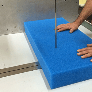 Schaumstoff richtig schneiden