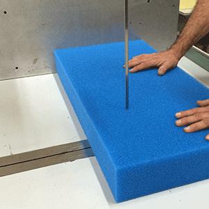 Schaumstoff richtig schneiden – so gehts!