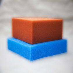 Filterschaumstoff PPI 10 Grob Plattenware (Blau)