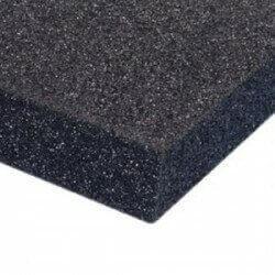 PUR 20/35 Schaumstoff Plattenware (schwarz)