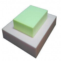 HR 35/30 Schaumstoff Plattenware (gelb/grün)