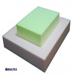BULTEX HR 30/60 Schaumstoff Plattenware (hellgrün / weiß)