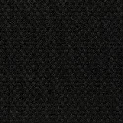 Laufmeterstoff Panama NEGRO Schwarz, Dralon - Acryl-Faser
