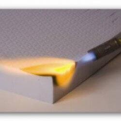 Schaumstoff B1 57/40 schwer entflammbar Plattenwar